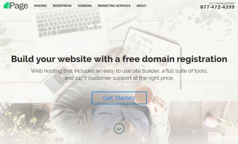 ipage - Build WebSites cheaply with ipage