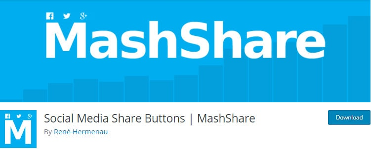 MashShare - social media share buttons