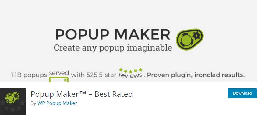 popup maker for your website to get the visitors email id