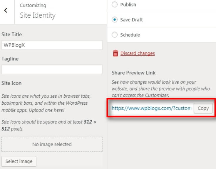 wordpress publish, save draft and schedule