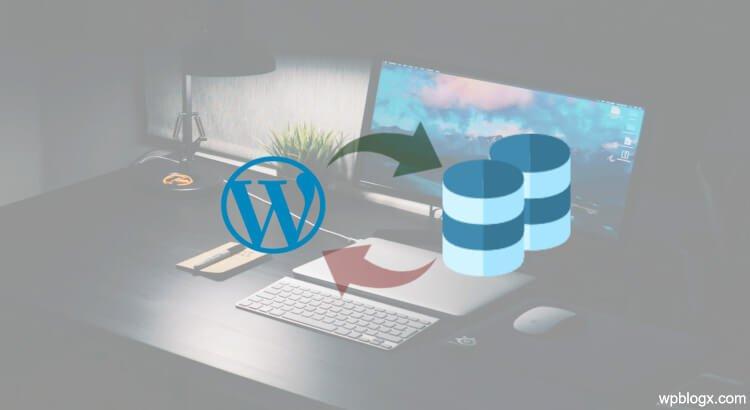 Backup WordPress Database Manually