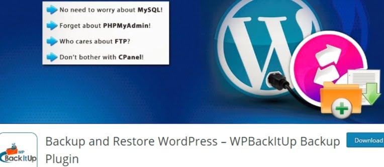 WPBackItUp Backup Plugin