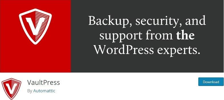 wordpress VaultPress