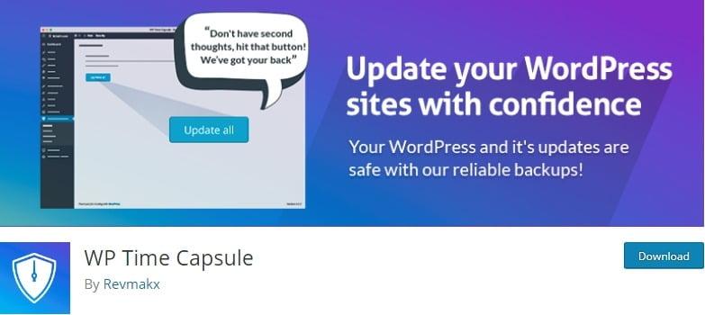 wp time capsule plugin