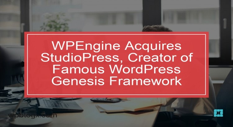 WPEngine Acquires StudioPress