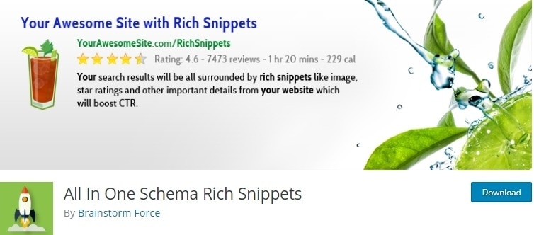 all in one schema rich snippets plugin