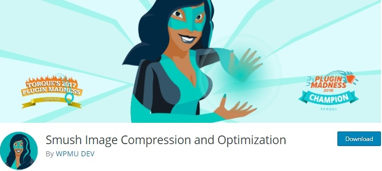 smush image compression and optimization wordpress plugin
