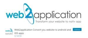 web2app plugin