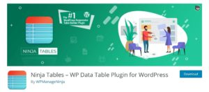 7 Best WordPress Table Plugins For Your Website – WPBlogX