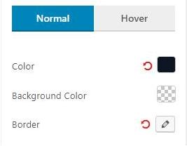 Normal Filter Settings