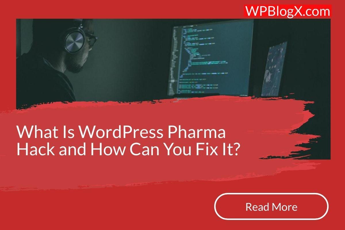 WordPress Pharma
